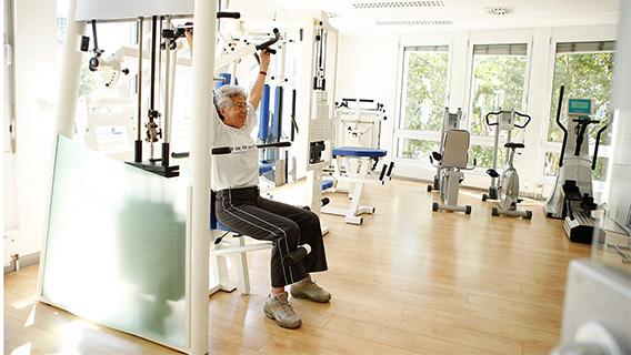 Training im MFT Medizinisches Fitnesstraining